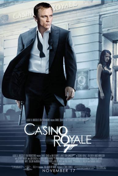 #2 - CASINO ROYALE (2006) : 3,9/5