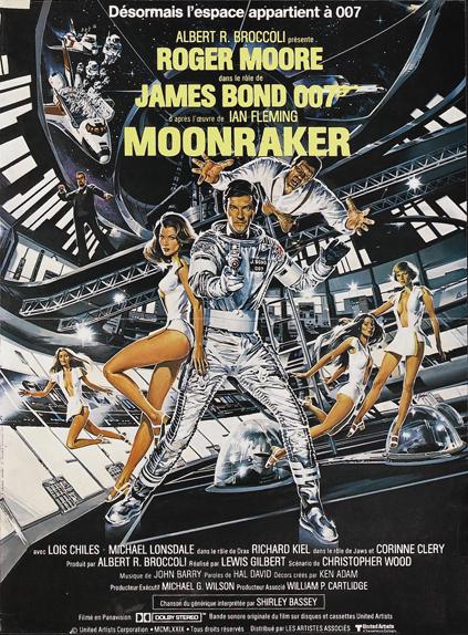 #23 - MOONRAKER (1979) : 2,9/5