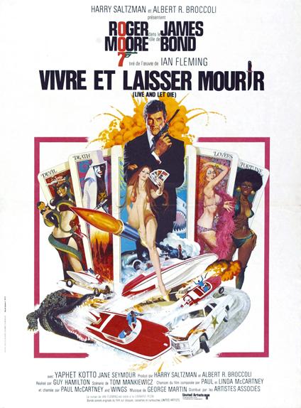 #11 - VIVRE ET LAISSER MOURIR (1973) : 3,3/5