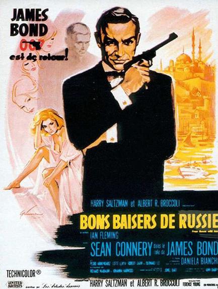 #5 - BONS BAISERS DE RUSSIE (1964) : 3,6/5
