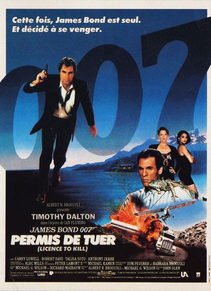 #16 - PERMIS DE TUER (1989) : 3,1/5