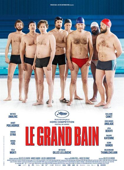 N°1 - Le Grand Bain : 1 527 394 entrées