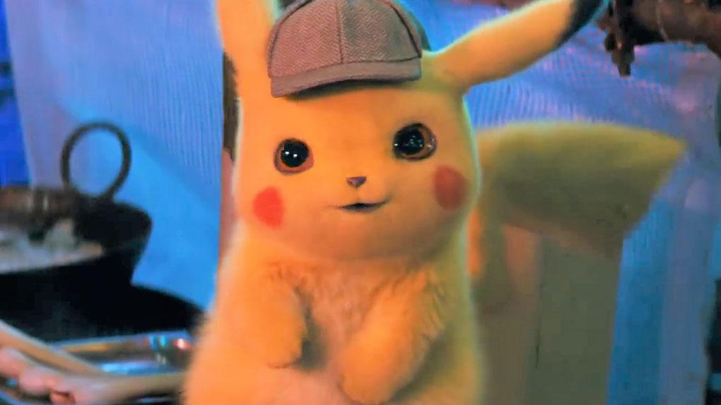 Pikachu dans Détective Pikachu