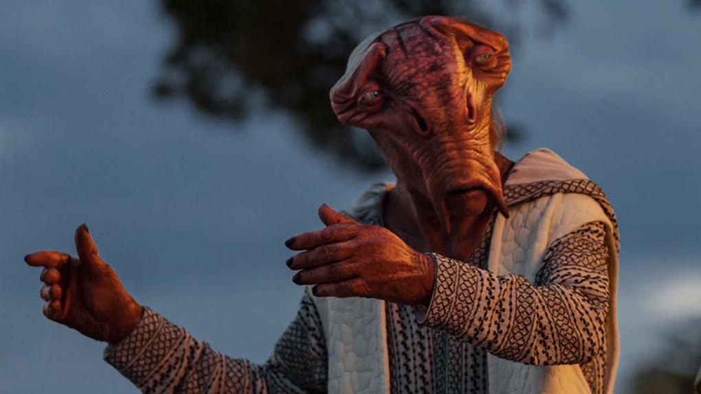 "Joseph Gordon-Levitt dans ""Star Wars - Les Derniers Jedi"""