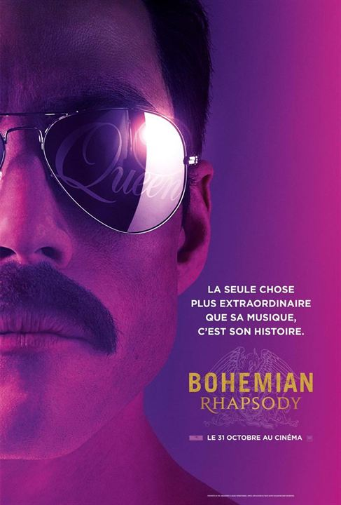BOHEMIAN RHAPSODY - 2 nominations