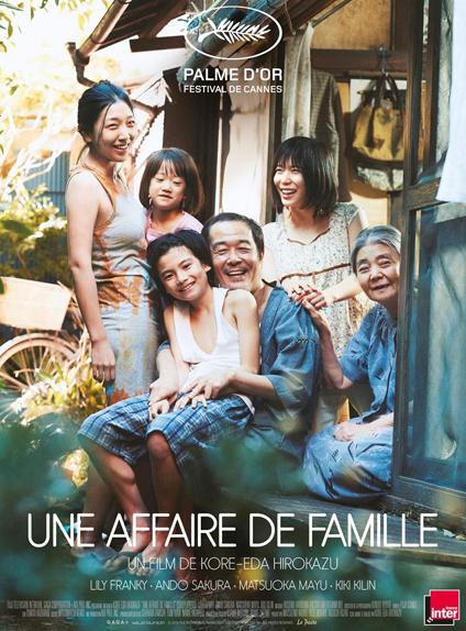 14/ (ex aequo) Une Affaire de famille de Hirokazu Kore-eda