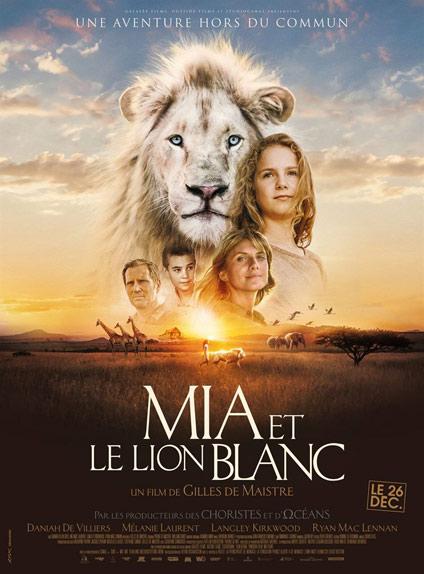 N°5 - Mia et le lion blanc : 515 719 entrées