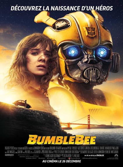 N°5 - Bumblebee : 12,77 millions de dollars de recettes