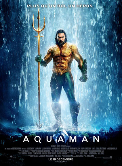 Aquaman (2018) : 1,020 milliard de $