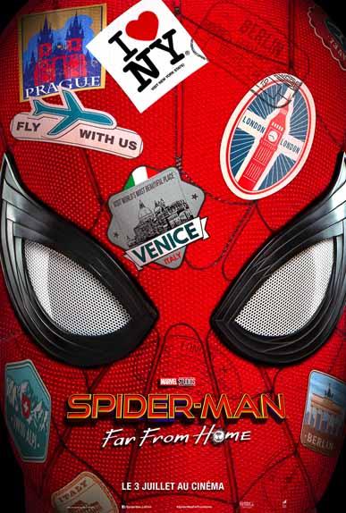 Spider-Man: Far From Home avec Tom Holland, Zendaya...
