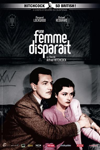 #15 - UNE FEMME DISPARAÎT (1938) : 3,9/5