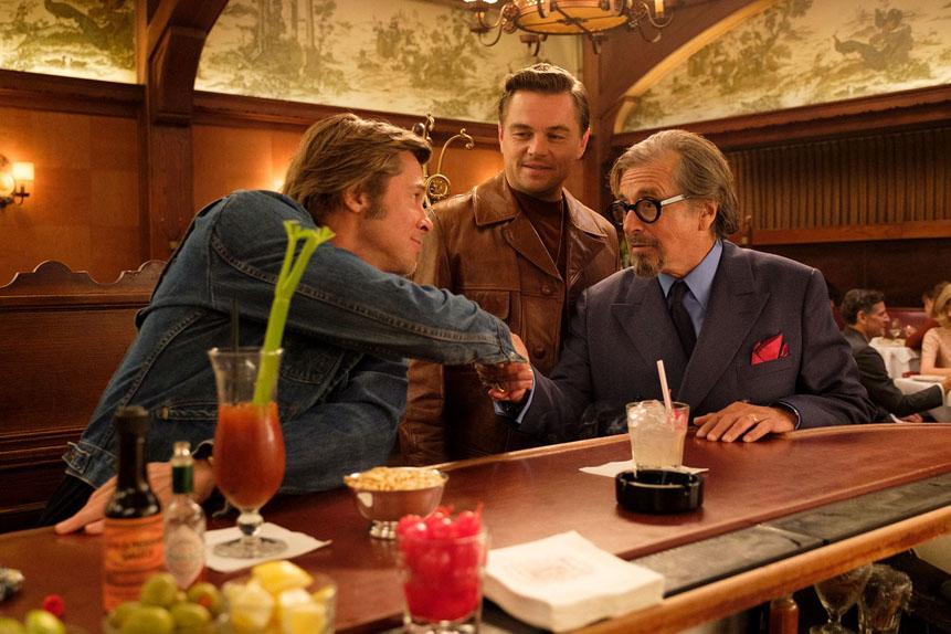 Once Upon A Time In Hollywood avec Leonardo DiCaprio, Brad Pitt...
