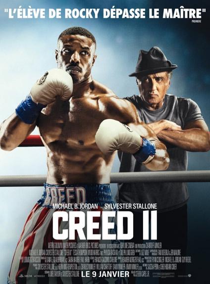 N°4 - Creed II : 236 407 entrées
