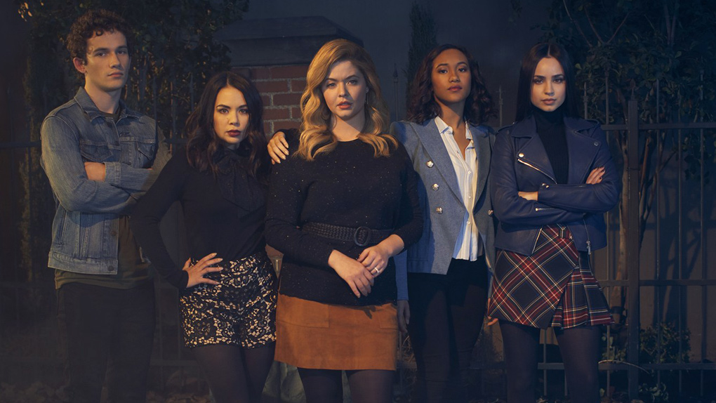 Les cinq héros de Pretty Little Liars : The Perfectionists