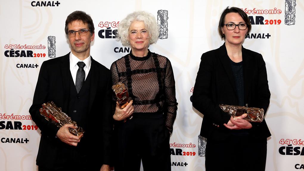 Brigitte Taillandier, Valérie de Loof et Cyril Holtz, César du meilleur son pour Les Frères Sisters
