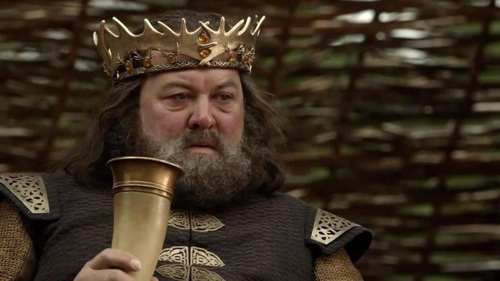 Quel est le surnom de Robert Baratheon ?