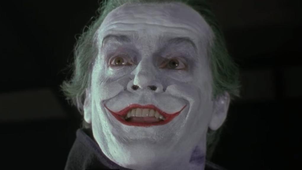Jack Nicholson dans Batman (1989)