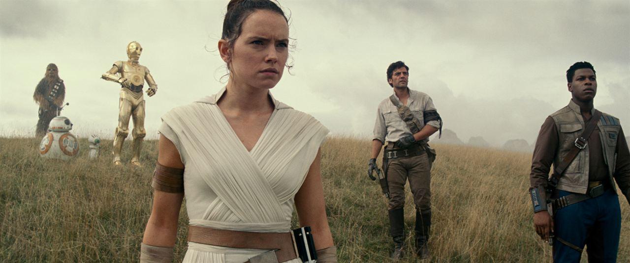 Star Wars: The Rise of Skywalker avec Daisy Ridley, Oscar Isaac...