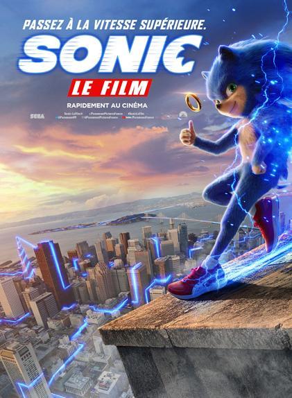 Sonic avec Jim Carrey, James Marsden, Tika Sumpter...