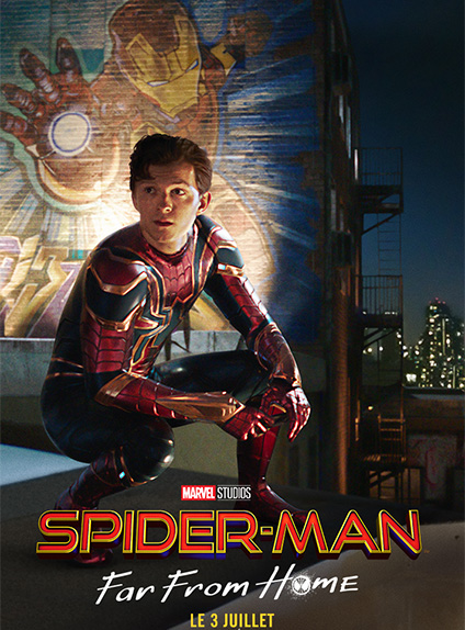 Tom Holland interprète Spider-Man