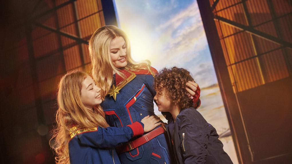 Nouveau: l'arrivée de Captain Marvel
