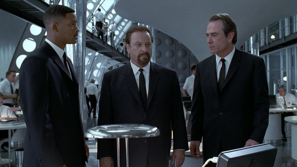 "Rip Torn incarnait l'agent Z dans ""Men In Black"""