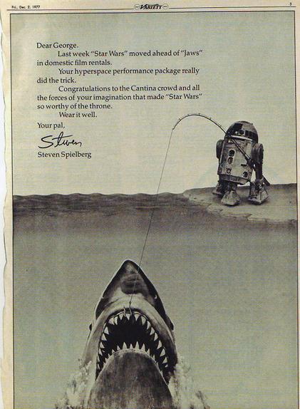 Un gros poisson mord à l'hameçon de la ligne de R2-D2 !