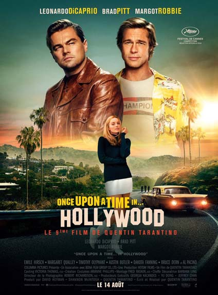 10ème : Once Upon a Time... in Hollywood - 3.49/5