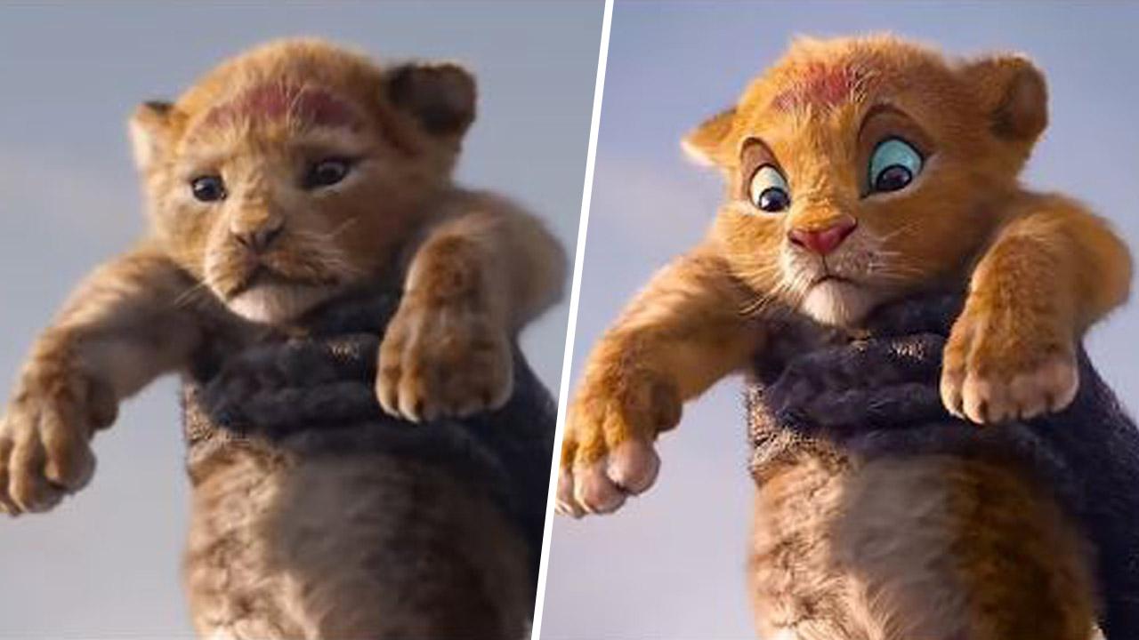 Le Roi Lion Quand Un Teaser Deepfake Melange Les Deux Versions