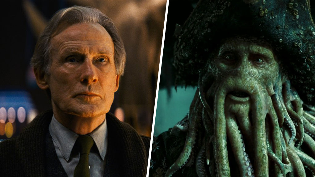 Bill Nighy est... Davy Jones