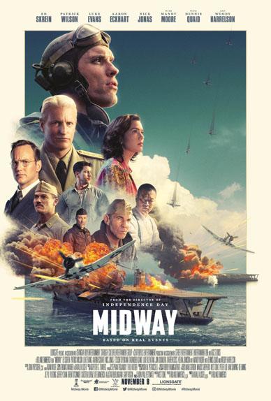 Midway avec Luke Evans, Patrick Wilson et Nick Jonas