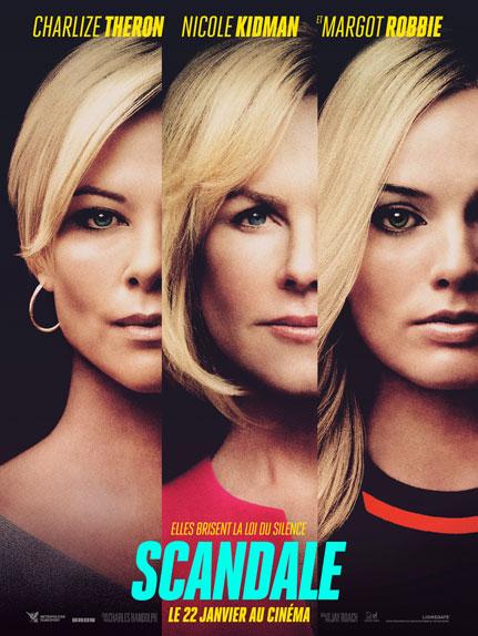 Scandale avec Nicole Kidman, Charlize Theron et Margot Robbie