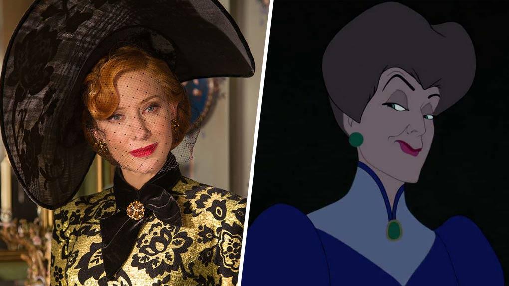 Cate Blanchett est... Lady Tremaine