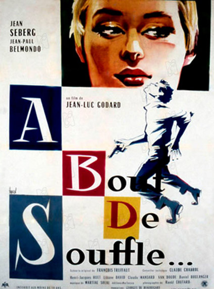 À bout de souffle de Jean-Luc Godard