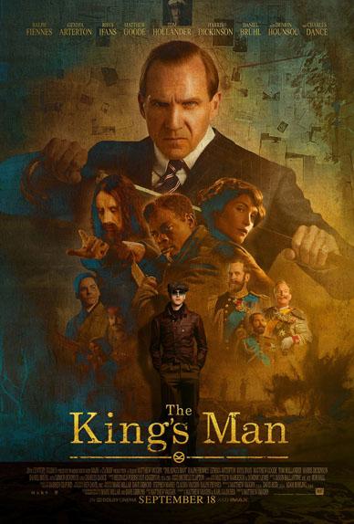The King's Man : Première Mission avec Ralph Fiennes, Gemma Arterton, Rhys Ifans...