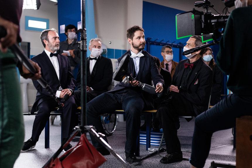 """Bruno Solo en guest dans la saison 10 de """"Vestiaires"""""""
