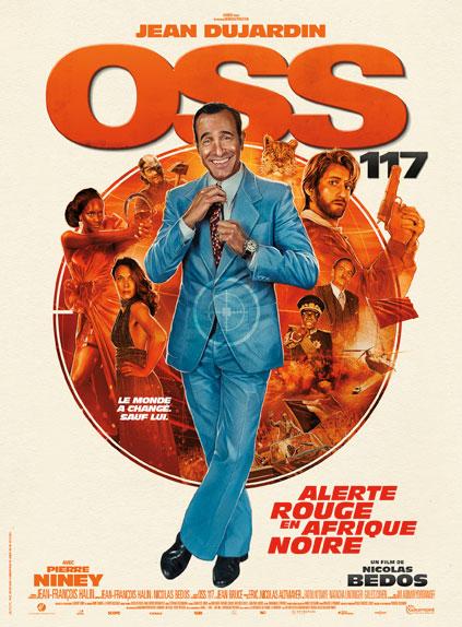 OSS 117: Alerte rouge en Afrique noire avec Jean Dujardin, Pierre Niney, Fatou N'Diaye...