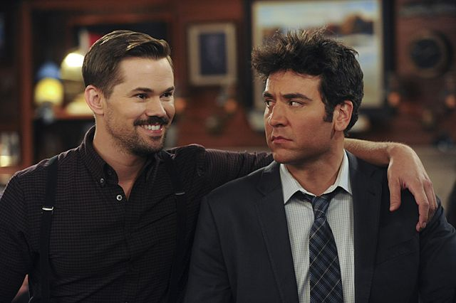 Photo Andrew Rannells, Josh Radnor