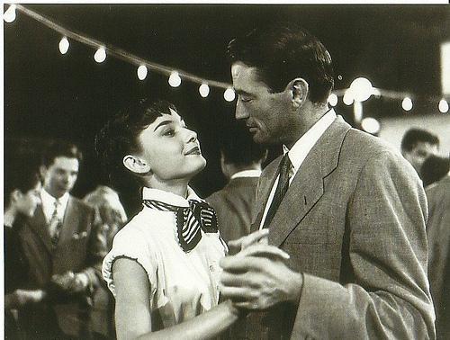 Vacances romaines : Photo Audrey Hepburn, Gregory Peck