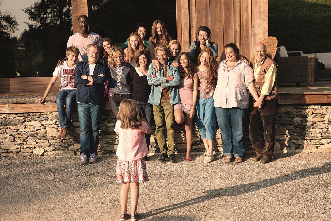 Salaud, on t'aime : Photo Eddy Mitchell, Irène Jacob, Isabelle De Hertogh, Jacky Ido, Jenna Thiam