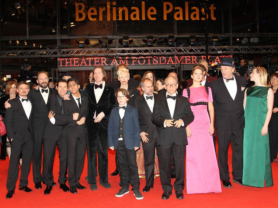 The Grand Budapest Hotel : Photo promotionnelle Bill Murray, Bob Balaban, Florian Lukas, Léa Seydoux, Ralph Fiennes