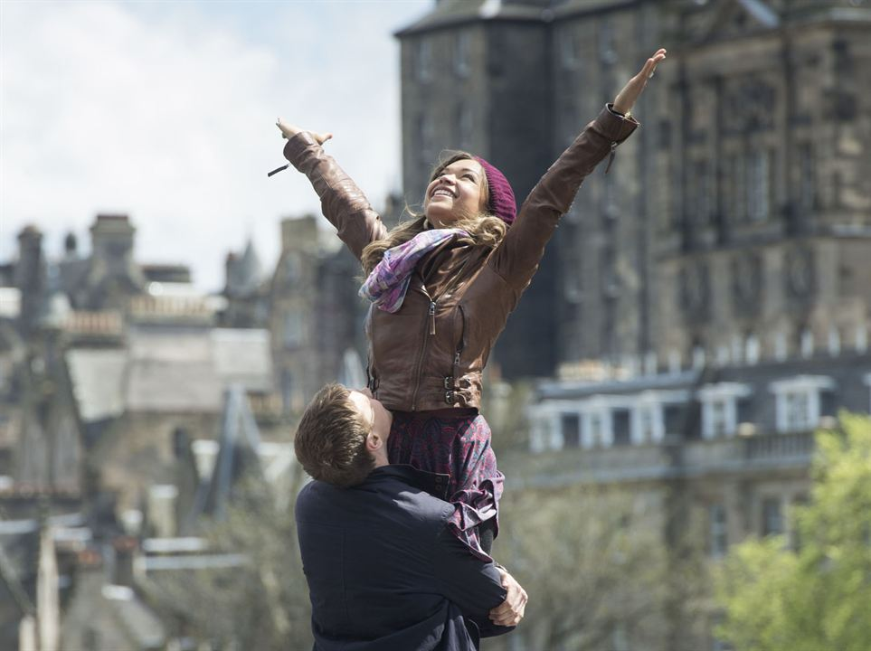 Sunshine on Leith : Photo Antonia Thomas