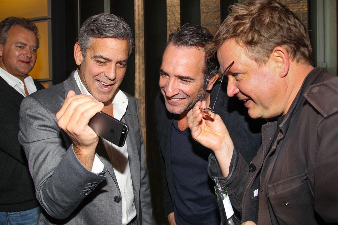 Monuments Men : Photo promotionnelle Dimitri Leonidas, George Clooney, Jean Dujardin