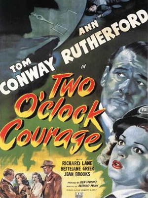 Two O'Clock Courage : Affiche