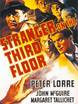 L'inconnu du 3ème étage : Affiche