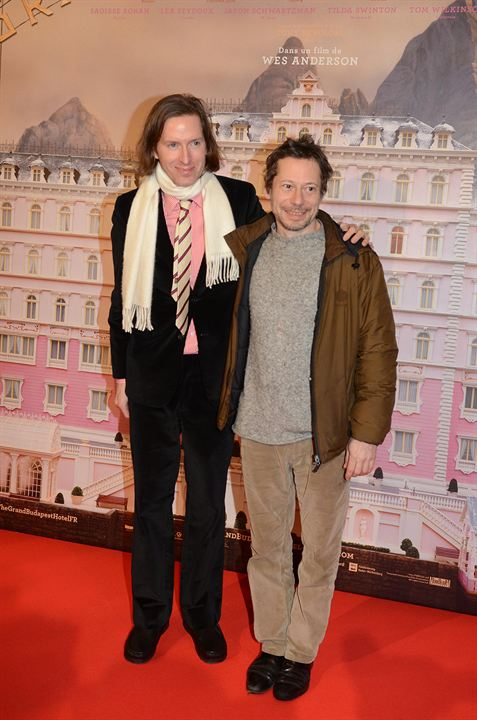 The Grand Budapest Hotel : Photo promotionnelle Mathieu Amalric, Wes Anderson