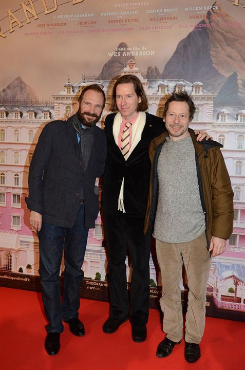 The Grand Budapest Hotel : Photo promotionnelle Mathieu Amalric, Ralph Fiennes, Wes Anderson