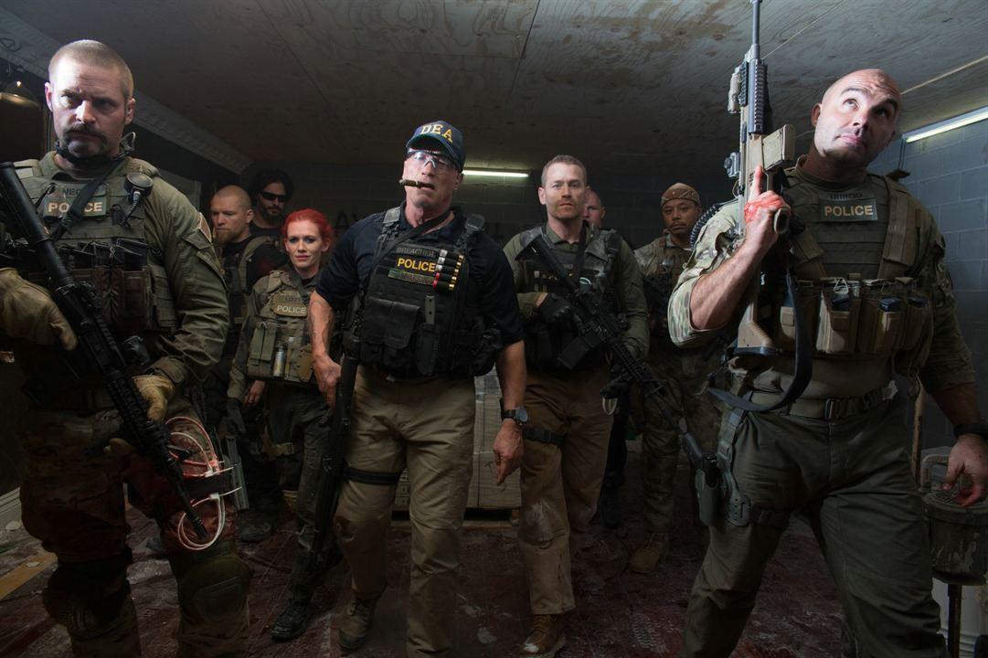 Sabotage : Photo Arnold Schwarzenegger, Josh Holloway, Kevin Vance (II), Max Martini, Mireille Enos