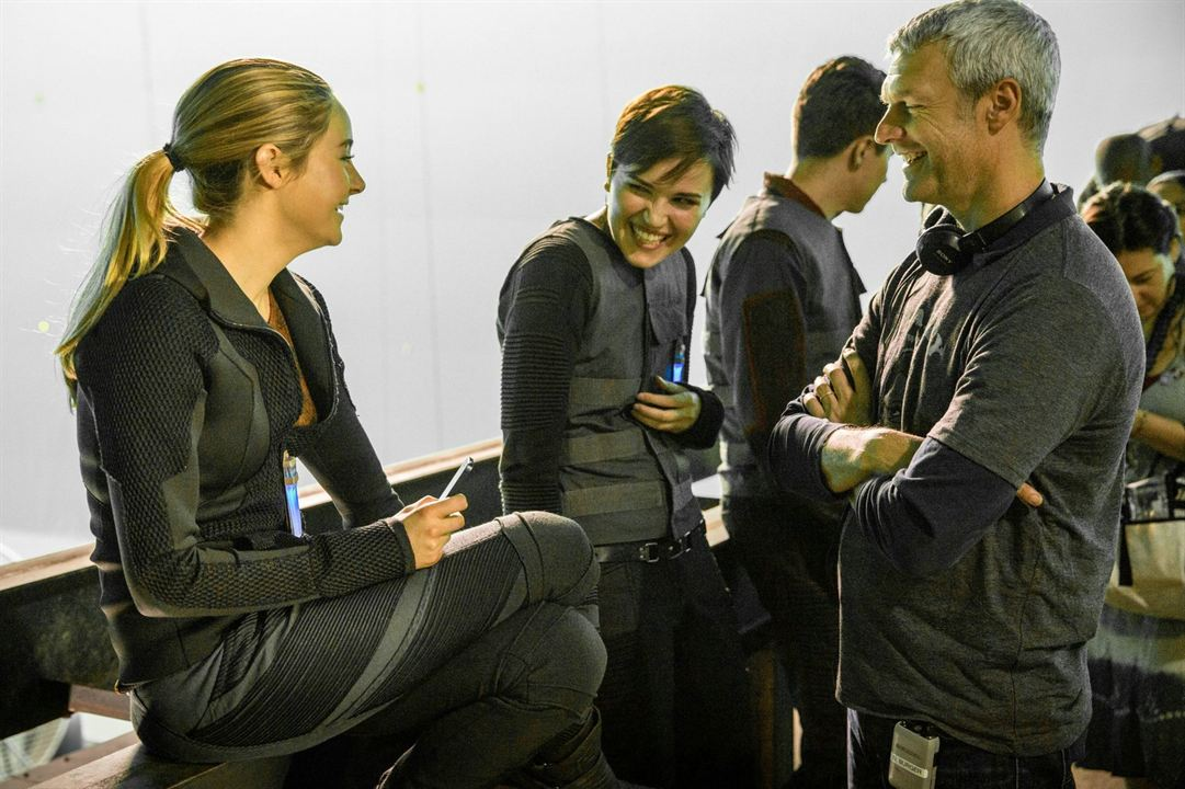 Divergente : Photo Neil Burger, Shailene Woodley, Veronica Roth