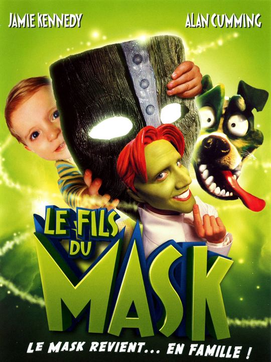 Le Fils du Mask : Affiche